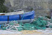 Fishing boats in Gallipoli