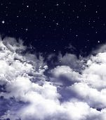 Nightly sky, background