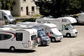 The Motorhome Parked