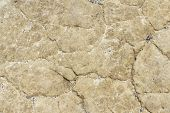 Dry Cracked Soil Texture And Background