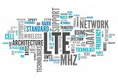Word Cloud Lte