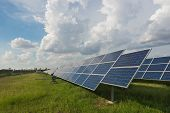 The Solar Farm For Green Energy In Thailand
