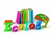 Ecology 3D Inscription Bright Volume Letter