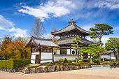 Kyoto, Japan buildings on the grounds of Tofuku-ji Temple.