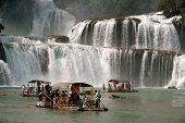 Datian waterfall ( Virtuous Heaven waterfall ) in China.