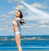 White Woman & Wind