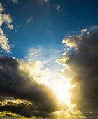 Spectacular Cloudscape Sunshine Breaking