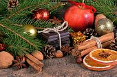 Christmas Treats, Dessert And Decorations