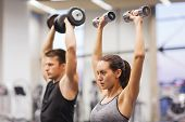 picture of lifting weight  - sport - JPG