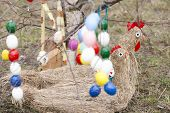 Easter tree with Easter decoration