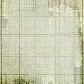 Vintage texture with space for text or image, grunge background. With different color patterns: brown; gray; green