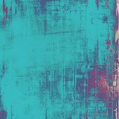 Abstract blank grunge background, old texture with stains and different color patterns: blue; purple (violet); gray