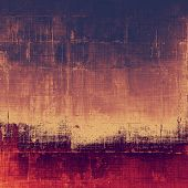 Weathered and distressed grunge background with different color patterns: orange; yellow; brown; purple (violet)