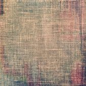 Old-style background, aging texture. With different color patterns: brown; gray; purple