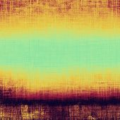 Abstract grunge textured background. With different color patterns: green; purple (violet); orange; brown; yellow