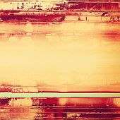 Abstract grunge textured background. With different color patterns: orange; brown; yellow