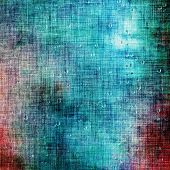 Antique vintage texture, old-fashioned weathered background. With different color patterns: blue; orange; brown