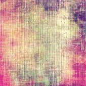 Old texture or antique background. With different color patterns: yellow; purple (violet); pink
