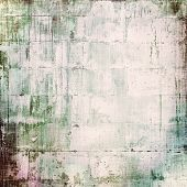 Antique vintage texture, old-fashioned weathered background. With different color patterns: blue; gray; green