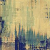 Old grunge antique texture. With different color patterns: gray; blue; green; brown; yellow