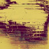 Aged grunge texture. With different color patterns: orange; yellow; brown