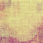 Grunge texture, may be used as retro-style background. With different color patterns: yellow; brown; purple (violet)
