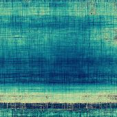 Antique grunge background with space for text or image. With different color patterns: blue; yellow; gray