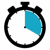 Stopwatch Icon: 20 Minutes / 20 Seconds / 4 Hours