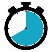 Stopwatch Icon: 40 Minutes / 40 Seconds / 8 Hours