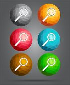 Set Of Icons Search