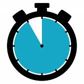 Stopwatch Icon: 55 Minutes / 55 Seconds / 11 Hours