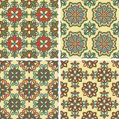Vector Seamless Tile Patterns