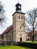 Church In Pisz Town, Poland