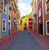 Spanish Street Scene.