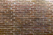 Old Brick Wall Textured Background