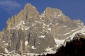 Grands Charmoz, 3445 m, Aiguilles du Chamonix, Mont Blanc Massif, Alps, Chamonix, France