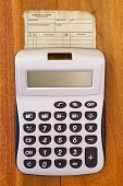 Calculator On The Old Account