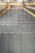 Escalator close up