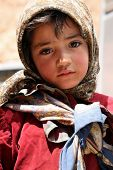 Little Moroccan girl