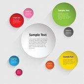 Vector Color Circle Design