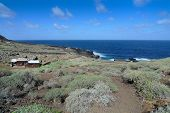 Charco Manso at the northern tip of El Hierro