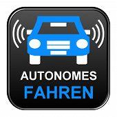 Black Button autonomous driving