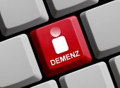 Computer Keyboard Dementia