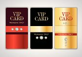 Vip club card templates