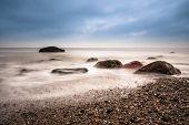 Stones On Shore