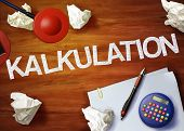 Kalkulation Desktop Memo Calculator Office Think Organize