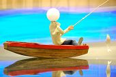 Fishing Wooden Boat
