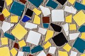 Colorful Mosaic Ceramic Glass Tiles Wall Decoration