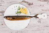 Smoked Mackerel Fish.