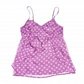 Pink Polka Dot Tank Top